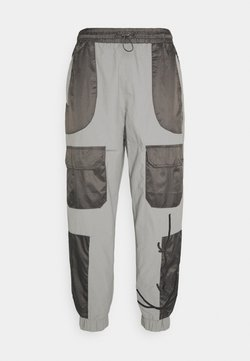 Karl Kani - SIGNATURE BLOCK TRACKPANTS - Jogginghose - grey