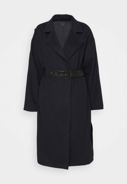 Who What Wear - BELTED COAT - Wollmantel/klassischer Mantel - navy