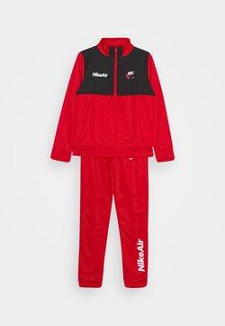 Nike Sportswear - AIR TRACK SUIT SET - Survêtement - university red/black/white