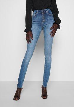 ONLY Tall - ONLBLUSH LIFE BUTTON - Jeans Skinny Fit - medium blue denim