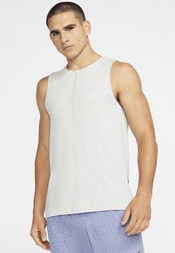 Nike Performance - TANK  - Camiseta de deporte - light smoke grey/heather/black