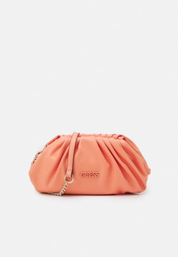 Guess - HANDBAG CENTRAL CITY - Kuvertväska - coral