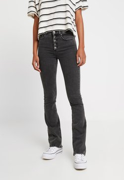 ONLY - ONLBLUSH SWEET FLARED - Flared Jeans - black denim