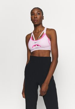 Nike Performance - INDY ULTRABREATHE BRA - Sport BH - pink foam/hyper pink/black