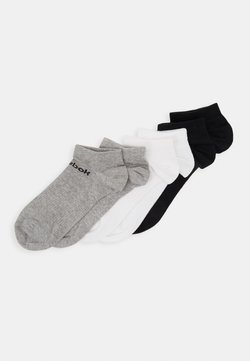 Reebok - ACT CORE INSIDE SOCK 6 PACK - Urheilusukat - medium grey heather/white/black