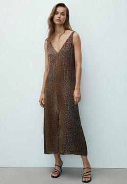 Massimo Dutti - Sukienka letnia - brown