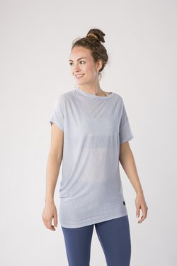 super.natural - YOGA - T-Shirt print - light blue