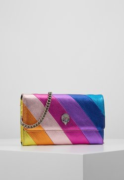 Kurt Geiger London - STRIPE CHAIN WALLET - Torba na ramię - multi-coloured
