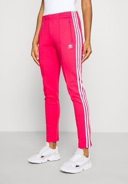 adidas Originals - PANTS - Spodnie treningowe - power pink/white