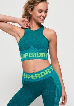 Superdry - Urheiluliivit - petrol