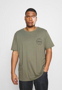 Jack & Jones - JORMOVESMALL TEE CREW NECK - T-shirt imprimé - dusty olive