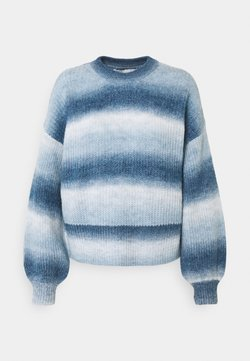ONLY - ONLMILLE LIFE SPACE - Strickpullover - night sky/blue dye
