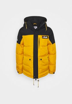 Fila - ESCURCIONE PUFFED JACKET - Winterjacke - nugget gold/black