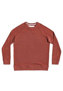 Quiksilver - TOOLANGI SLATE - Sweater - henna