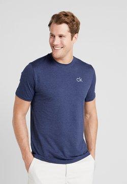 Calvin Klein Golf - NEWPORT TEE - T-Shirt basic - navymarl