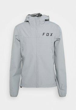 Fox Racing - RANGER WATER JACKET - Hardshelljacke - grey