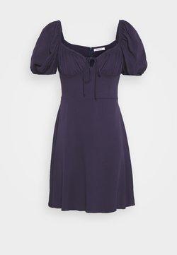 Glamorous - BUST DETAIL MINI DRESS - Korte jurk - purple