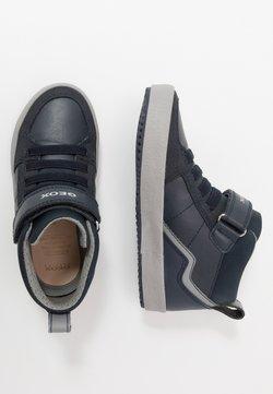 Geox - ALONISSO BOY - Sneaker high - navy/grey
