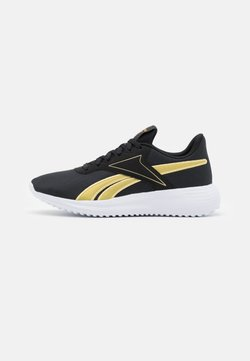 Reebok - LITE 3.0 - Juoksukenkä/neutraalit - core black/gold metallic/footwear white