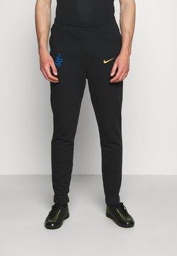 Nike Performance - INTER MAILAND PANT - Vereinsmannschaften - black/truly gold