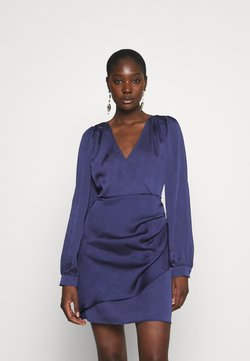 JUST FEMALE - MINNIE SHORT DRESS - Cocktailkleid/festliches Kleid - patriot blue