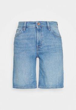 s.Oliver - Szorty jeansowe - middle blu