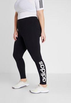 adidas Performance - ESSENTIALS TRAINING SPORTS LEGGINGS - Legginsy - black/white
