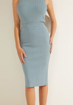 Guess - Falda de tubo - himmelblau