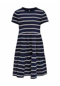 Kids ONLY - RÜSCHEN - Sukienka z dżerseju - peacoat