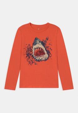 GAP - BOY VALUE GRAPHIC - Pitkähihainen paita - fire coral