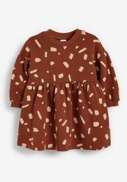 Next - BALLOON SLEEVE - Vestido informal - brown