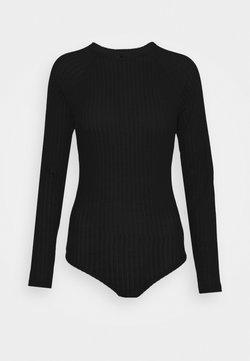 Calvin Klein Underwear - COZY LOUNGE BODYSUIT - Body - black