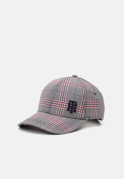 Tommy Hilfiger - LOGO CHECK - Cappellino - red