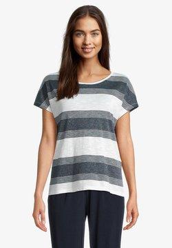 Betty & Co - T-Shirt print - weiß/blau