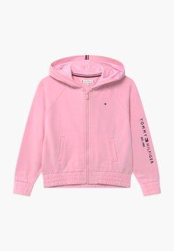 Tommy Hilfiger - ESSENTIAL ZIP THROUGH - veste en sweat zippée - pink