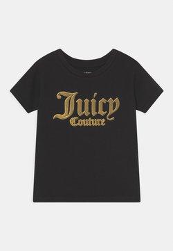 Juicy Couture - LOGO PRINT TEE - Printtipaita - jet black