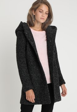 ONLY - ONLSEDONA COAT - Kurzmantel - black/melange