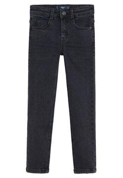 Mango - SLIM FIT JEANS - Slim fit jeans - black denim