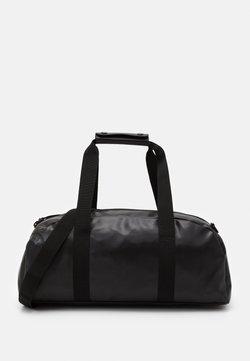 Rains - DAILY DUFFEL SMALL UNISEX - Sporttasche - shiny black