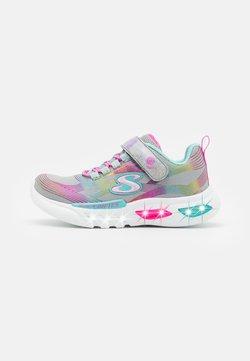 Skechers - GLOW-BRITES - Sneaker low - gray/multicolor