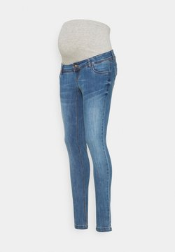 MAMALICIOUS - MLPAX HIGH BACK - Jeansy Skinny Fit - medium blue denim