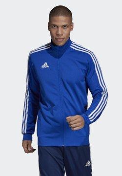 adidas Performance - TIRO 19 TRAINING TRACK TOP - Verryttelytakki - blue