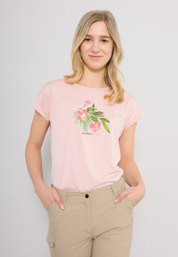 Icepeak - T-Shirt print - rosenrot