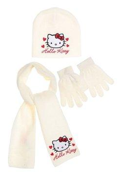 Hello Kitty - 3 PIECES - Schal - weiß