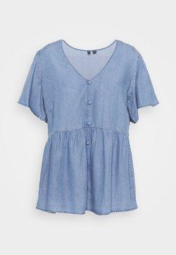 Vero Moda Curve - VMNAENA  - Bluse - light blue denim