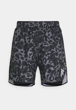adidas Performance - PRIMEBLUE - Pantalón corto de deporte - grefou/multcolor/black
