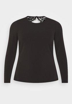 Vero Moda Curve - VMANA - Bluzka z długim rękawem - black