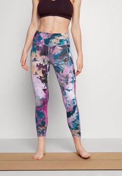 Sweaty Betty - SUPER SCULPT YOGA LEGGINGS - Tights - pink coral