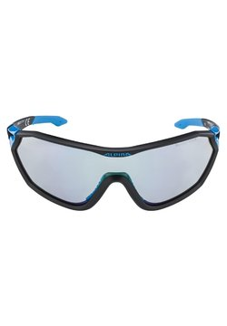 Alpina - MANDANT - Sportbrille - black matt-cyan (a8585.x.31)