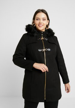 Simply Be - DUFFLE COAT - Short coat - black